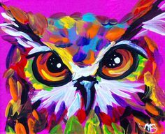 Image result for colorful canvas painting