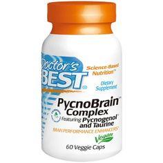 Doctor's Best PycnoBrain Complex with Pycnogenol & Taurine