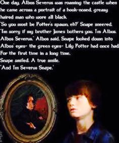 Albums Severus meeting the portrait of Snape