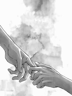 Never Let Me Go Drawings - Bing images Anime Hand, Hand Drawing Reference, Drawing Hands, Hand Art, Art Drawings Sketches, Hand Drawings, Couple Drawings, Anime Couples, Art Inspo