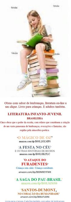 Lançamento e-Book Kindle para Você:     http://www.amazon.com/dp/B00L8B25LC  Leia#compartilhe in Books kindle:   A FESTA NO CÉU E OUTRAS HISTÓRIAS DE BICHOS - Zooliteratura -  Fantasias que as Crianças vão gostar de ler, ouvir e contar para os amiguinhos. Contos Infantis que escrevi e li para meus filhos na infância.  Acesse o Books by Welington Almeida Pinto: www.amazon.com/-/e/B00L8RZV5S  -  E baixe também outros livros: