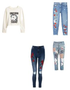 """Untitled #5"" by delianita on Polyvore featuring beauty, H&M, MANGO and Boohoo"