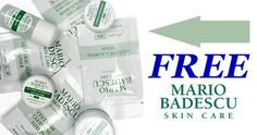 Free Mario Badescu Skin Care Sample