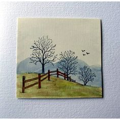 """#Serendipity Stamps """"Winter Fenceline"""" (wc3, ims, +)"""