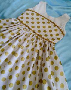 https://www.etsy.com/listing/247342032/classic-party-dress-gold-metallic-polka