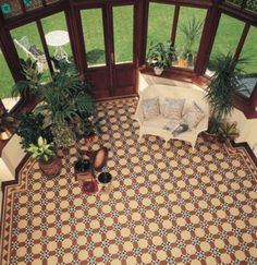 Original Style - Victorian Floor Tile from Great Britain Tile