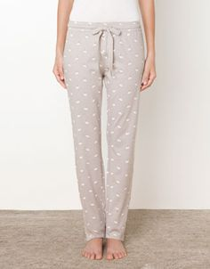 pyjamas, Bunny print pants - Pants - United Kingdom