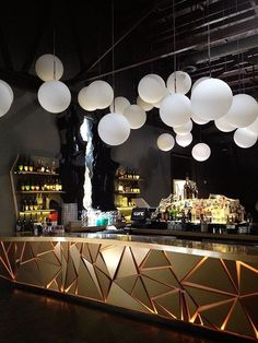 Men and women come to bar or restaurant to shell out time and receive an experience. Let they know what your bar is offering that they won't find anywhere else. Lounge Design, Bar Lounge, Design Hotel, Lounge Ideas, Restaurant Design, Deco Restaurant, Restaurant Ideas, Restaurant Lighting, Restaurant Chairs