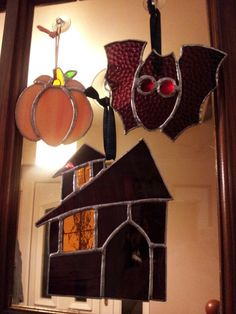 Stained glass halloween by Glass Gifts Garioch