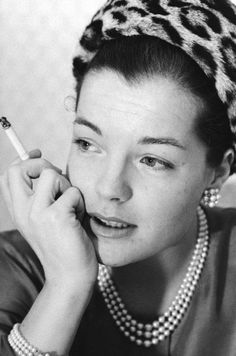 """""""There are three people who definitively transformed my life: Alain, Visconti and Coco Chanel."""" - Romy Schneider"""