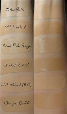 YSL Le Teint Touche Eclat Illuminating Foundation SPF 19 – Fairytales and Coffee Pink Beige, Ysl, Skin Makeup, Beauty Makeup, Foundation Tips, Imperfection Is Beauty, Makeup Course, Makeup Swatches, Make Me Up