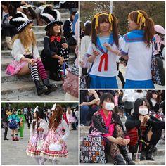 Tokyo street fashion & entertainers! Harajuku? Yes please:) <3 Japanese culture!