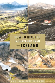 How to prepare for the Laugavegur Trail (Laugavegurinn) in Iceland. Read on to learn how to plan, book huts, & pack for the Laugavegur Trek. #laugavegur #laugavegurtrail #laugavegurinn #iceland #hike #trek #landmannalaugar Iceland Travel Tips, Europe Travel Guide, Travel Guides, Travel Destinations, European Travel Tips, Outdoor Travel, Adventure Travel, Travel Photos, Travel Inspiration
