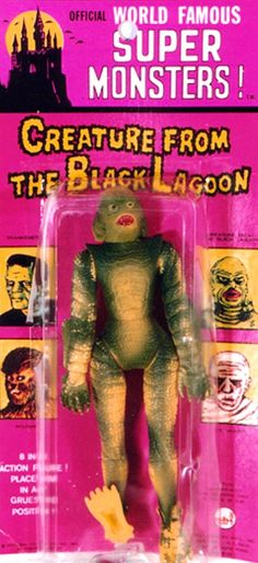 Official World Famous Super Monsters (AHI 1974) - creature black lagoon