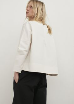 Navoli Double Shell Top In Ivory
