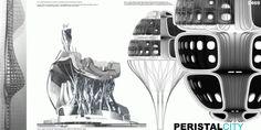 [A3N] : Peristal City / Neri Oxman, Mitchell Joachim / USA