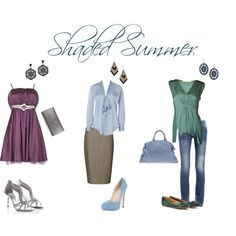 """Shaded Summer"" by sabira-amira on Polyvore ~ Soft Summer Deep (a top contender for my season)"