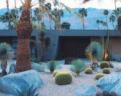 Desert Modernism gardens