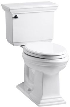 KOHLER K-3817-0 Memoirs Comfort Height Two-Piece Elongated 1.28 gpf Toilet with Stately Design, White Kohler http://www.amazon.com/dp/B005E3M286/ref=cm_sw_r_pi_dp_7XARub19A0WHN