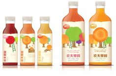 Nungfu Drinks on Packaging of the World - Creative Package Design Gallery