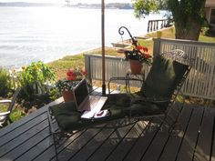My home office Humble Abode, Porch Swing, Outdoor Furniture, Outdoor Decor, Home Office, Home Decor, Decoration Home, Room Decor, Home Offices