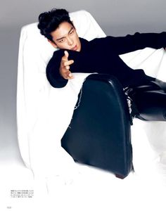 TOP for HIGH CUT Japan (Top Bigbang People)