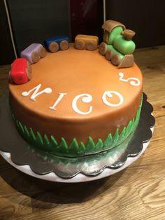 Birthday train cake / Geburtstagstorte Zug