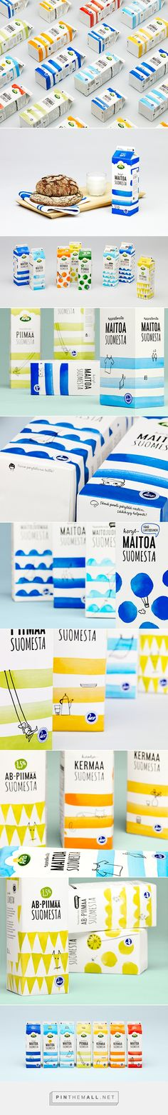Milk from Finland - Packaging for Arla
