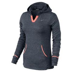 hmm. If I can get my lungs to handle running in the colder weather...NIKE WOMENS ELEMENT RUNNING HOODY