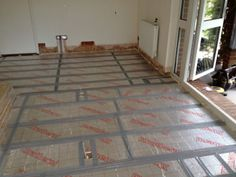 Under floor insulation prevents heat loss through the floor. This method is especially appropriate for older houses.