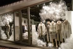 "CLUB MONACO, ""Snowflakes are one of nature's most fragile things...but just look what they can do when they stick together"", photo by James Doiron, pinned by Ton van der Veer"