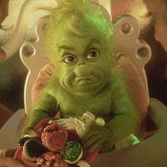 O Grinch, Baby Grinch, The Grinch Movie, Grinch Stole Christmas, Grinch Memes, Christmas Carol, Avatar Baby Doll, Grinch Christmas Decorations, Christmas Phone Wallpaper