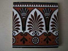 aesthetic movement | ... about Christopher Dresser Aesthetic Movement Minton Tile Circa 1880