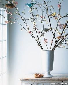 DIY Manzanita Branch Tree - you could add easter eggs too!