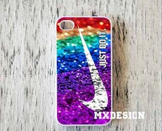 Nike just do it with glitter Design for iPhone 4/4s by MXdesignz, $14.85
