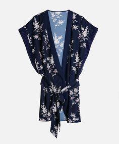 Kimono flor oriental - OYSHO - M