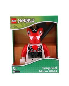 Save $11.40 on LEGO 9005251 Ninjago Fang-Suei Minifigure Clock; only $18.59 + Free Shipping