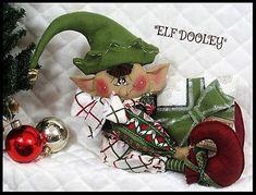 Primitive MAILED sitting ELF DooLeYSiTTiNg | Etsy Elf Me, The Elf, Christmas Elf Doll, Christmas Presents, Christmas Ornaments, Halloween Doll, Selling On Ebay, Cool Patterns, Digital Pattern