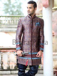 Prince Look indo Western Sherwani