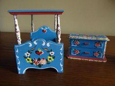 Dora Kuhn Vintage Dollhouse Furniture-Germany   eBay