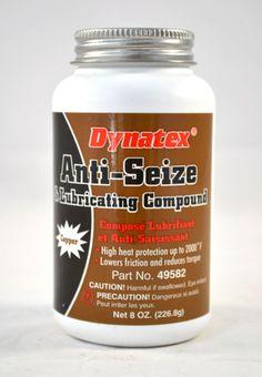 Copper Anti-Seize & Lubricating Compound 8 oz. brush top bottle Dynatex