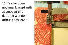 Easy Peasy Tasche - stoffART Bio- und Designerstoffe Easy, Sew Tote Bags, Jean Bag, Beaded Jewelry, Sachets, Handbags, Diy, Tutorials