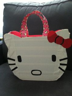Duck tape bag Hello Kitty