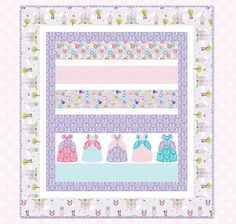 Free Quilt Pattern featuring Dream And A Wish by Sandra Workman for Riley Blake Designs—Subscribe to our newsletter at http://www.rileyblakedesigns.com/newsletter/