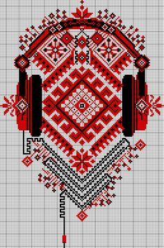 embroidery design by Bimep on DeviantArt Free Cross Stitch Charts, Cross Stitch Borders, Cross Stitch Designs, Cross Stitching, Cross Stitch Patterns, Embroidery Designs, Folk Embroidery, Cross Stitch Embroidery, Cross Stitch Silhouette