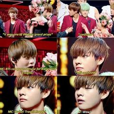 Don't worry, Suga will explain it to him backstage XD
