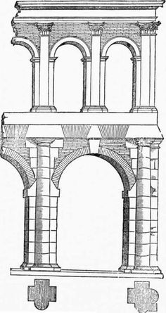 This is another form of Roman architecture which inspired Renaissance architecture to incorporate the arches shown in the picture into their own architecture.