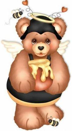 подставьте, картинка шмель и медведь прочим