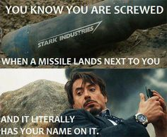 Jedi Mouseketeer: Meme Week: Tony Stark is Screwed