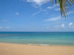 Another gorgeous #Barbados west coast beach. Explore them all at http://barbados.org/maps_google_set.htm?mapSet=3